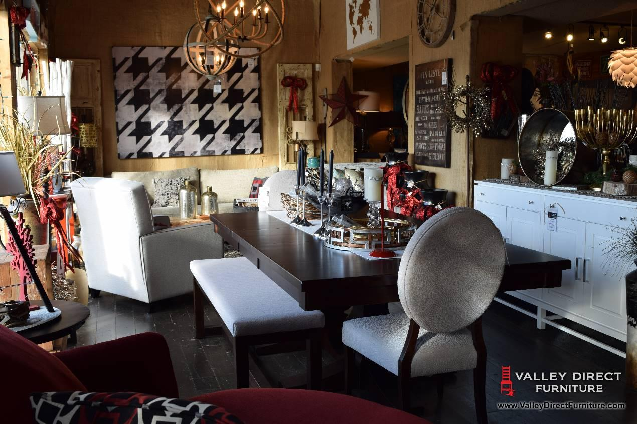 Our showroom valley direct furniture store in langley for Trendy furniture shops
