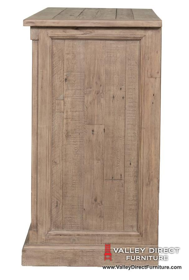 Cintra Sideboard In Rustic Sundried Ash Dining Room