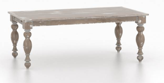 Champlain Rectangle 4 Leg Hn Dining Table Dining Room