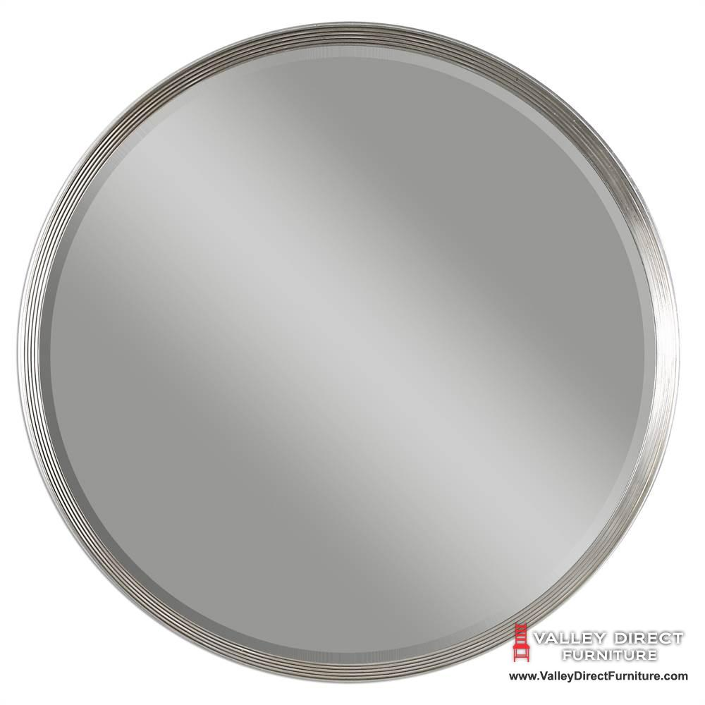 Serenza Round Mirror Home Decor Mirrors Uttermost