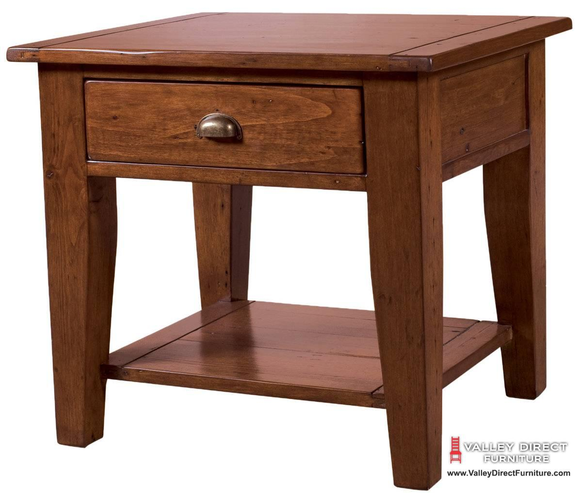 Small end tables for living room end table set 2 small for Small wood end table